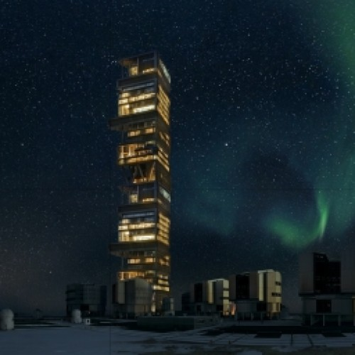 Data storage and processing centre -The Data Tower in Iceland