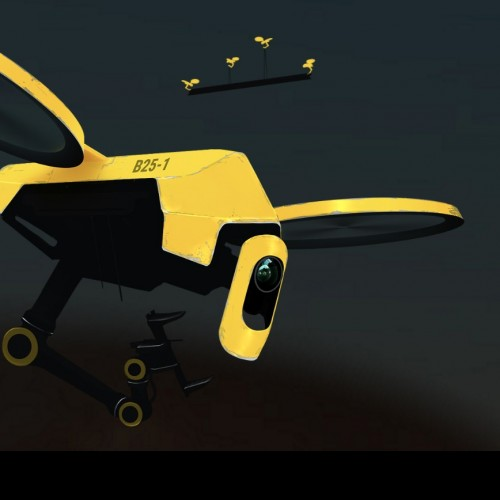 """""""Hives"""" for drones"""