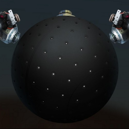 Ball-shaped wheel