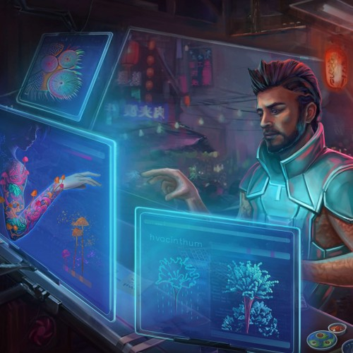Дизайнерские микробы: лишай вместо татуировки