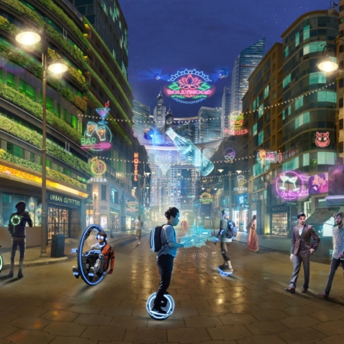 2050: No work, all play